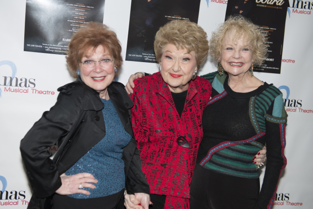 <p>Guests at the opening-night festivities included stage favorites Anita Gillette, Marilyn Maye, and Penny Fuller.</p><br />(© Allison Stock)