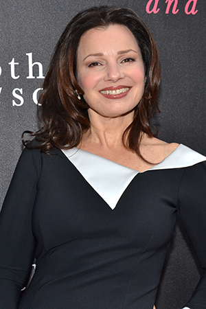 <p>Guests at the opening night included Fran Drescher, who currently stars in <em>Cinderella</em>.</p><br />(© David Gordon)