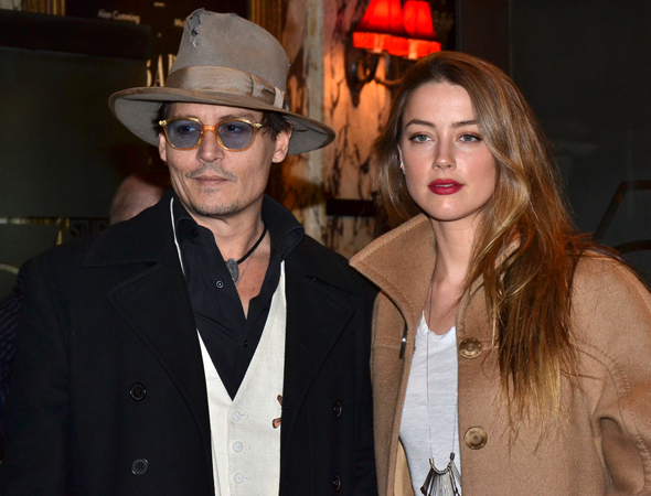 <p>Guests at the opening-night performance included Johnny Depp and Amber Heard.</p><br />(© David Gordon)