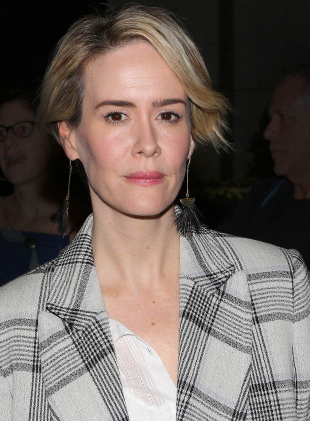 <p>Guests at the opening of <em>Love, Love, Love</em> included recent Emmy winner Sarah Paulson.</p><br />(© David Gordon)