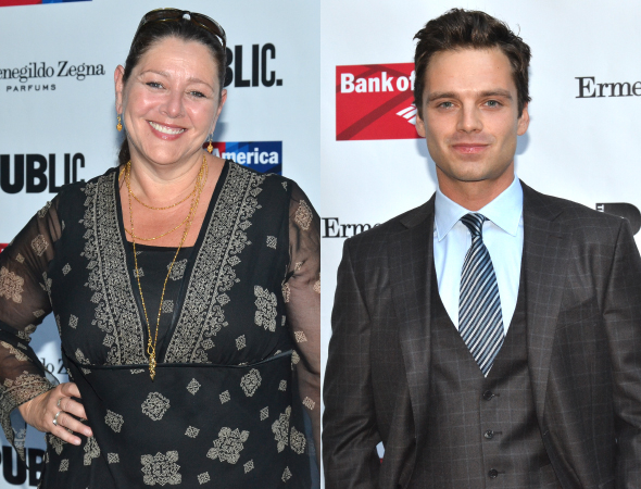 <p>Guests at the performance included Camryn Manheim and Sebastian Stan.</p><br />(© David Gordon)