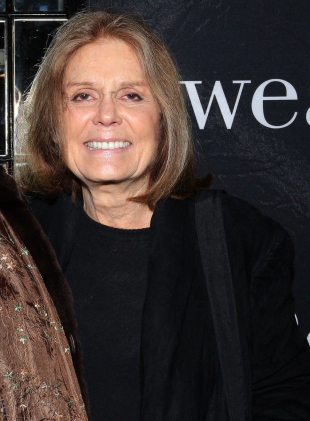 <p>Guests at the performance included Gloria Steinem.</p><br />(© David Gordon)