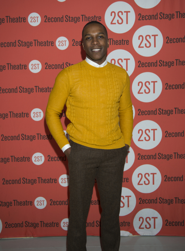 <p>Guests included <em>Hamilton</em> star Leslie Odom Jr., who was proud to cheer on his wife, <em>Invisible Thread</em>&#39&#x3B;s Nicolette Robinson.</p><br />(© Allison Stock)
