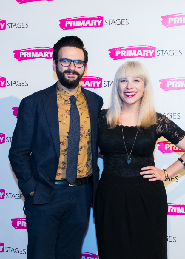 <p>Guests included songwriters and performers Joe Iconis and Lauren Marcus.</p><br />(© Allison Stock)