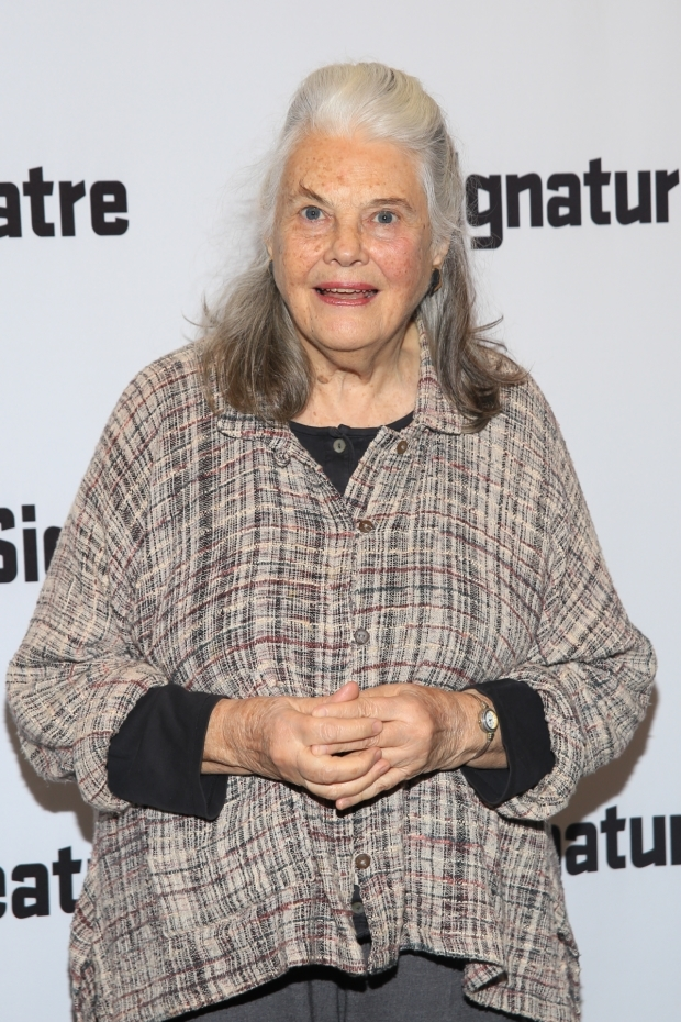 <p>Guests included stage vet Lois Smith.</p><br />(© Tricia Baron)