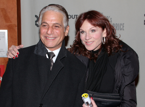 <p>Guests included two of Danny DeVito&#39&#x3B;s <em>Taxi</em> costars, Tony Danza and Marilu Henner.</p><br />(© David Gordon)