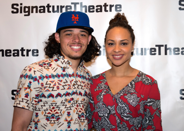 <p><em>Hamilton</em> castmates Anthony Ramos and Jasmine Cephas Jones are thrilled to see Thomas Kail&#39&#x3B;s latest production.</p><br />(© Allison Stock)