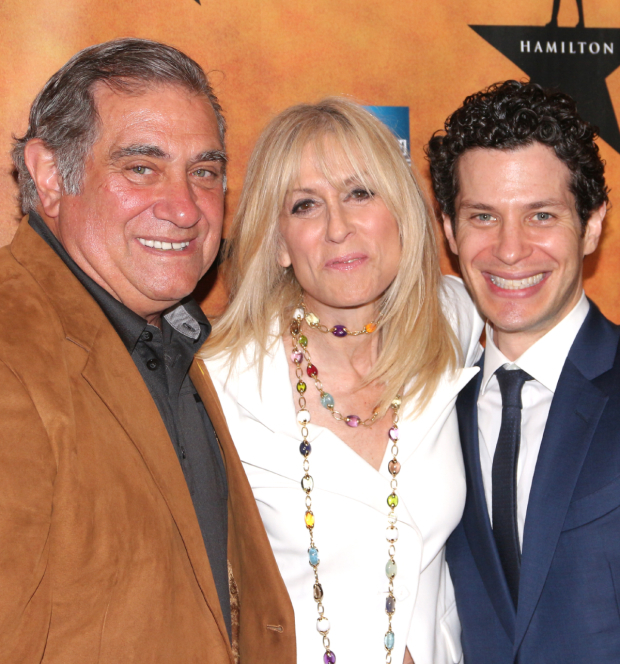 <p><em>Hamilton</em> director Thomas Kail catches up with his <em>Lombardi</em> stars, Dan Lauria and Judith Light.</p><br />(© David Gordon)
