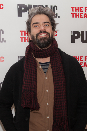<p>Public Theater favorite Hamish Linklater was on hand to support the organization.</p><br />(© Seth Walters)