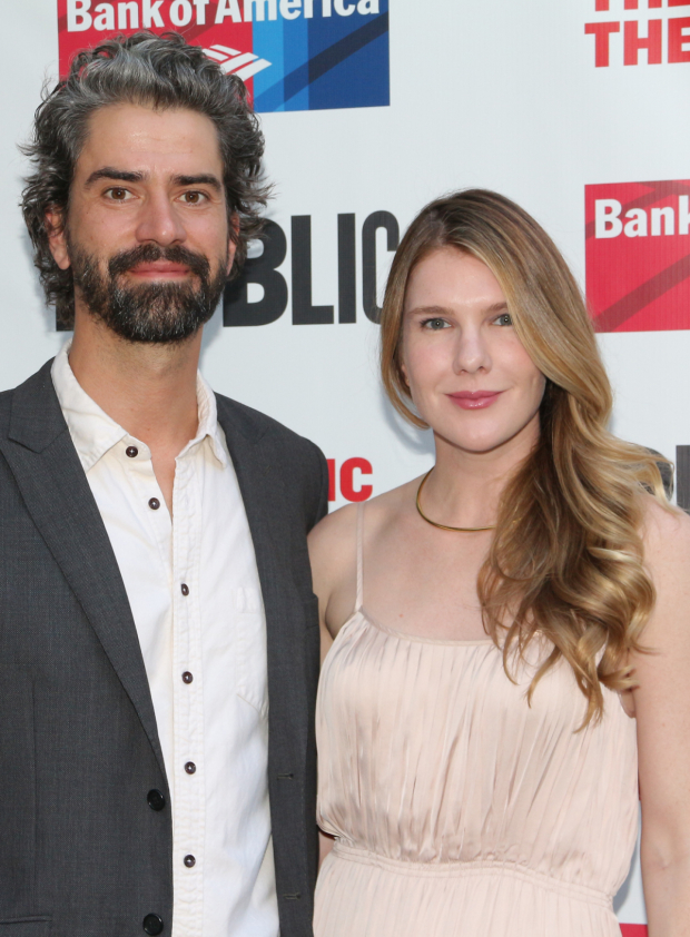 <p>Hamish Linklater and Lily Rabe both took part in the gala.</p><br />(© David Gordon)