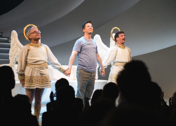 <p>Happy opening, <em>An Act of God</em>!</p><br />(© Allison Stock)
