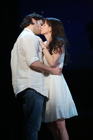 <p>Happy opening night to <em>The Bridges of Madison County</em>!</p><br />(© Joan Marcus)