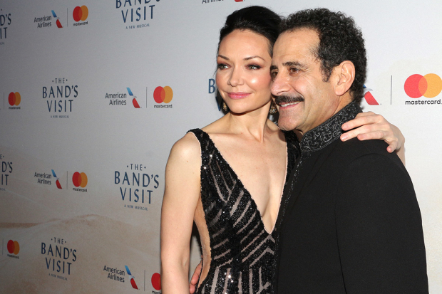 <p>Happy opening to Katrina Lenk and Tony Shalhoub!</p><br />(© David Gordon)