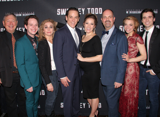 <p>Happy opening to team <em>Sweeney Todd</em>!</p><br />(© David Gordon)