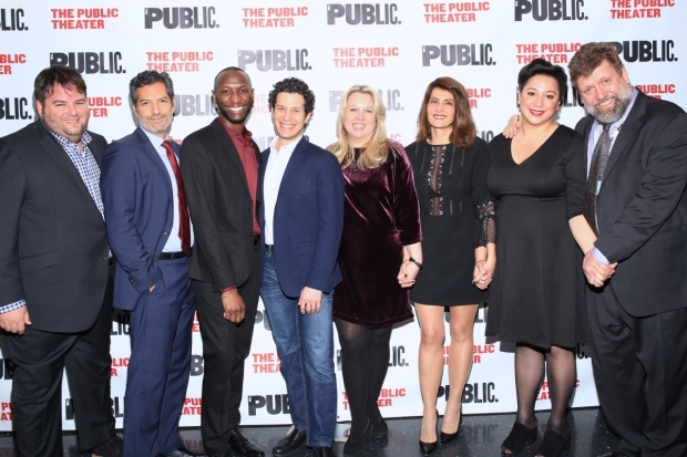 <p>Happy opening to the <em>Tiny Beautiful Things</em> team!</p><br />(© Tricia Baron)
