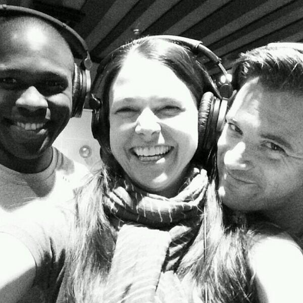 <p>Happy times in the studio with @joshuahenry20 @sfosternyc @colindonnell creating the #VioletAlbum today! </p><br />(courtesy of @RTC_NYC)