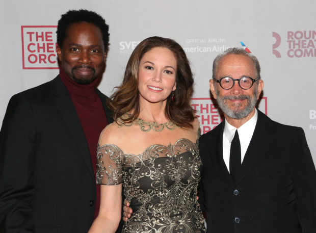 <p>Harold Perrineau, Diane Lane, and Joel Grey head the cast of <em>The Cherry Orchard</em>.</p><br />(© David Gordon)