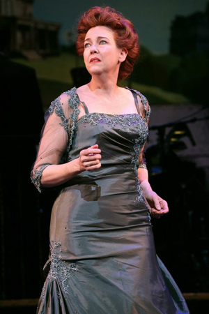 <p>Harriet Harris takes on the role of the stately Mrs. Eggelston.</p><br />(© Joan Marcus)