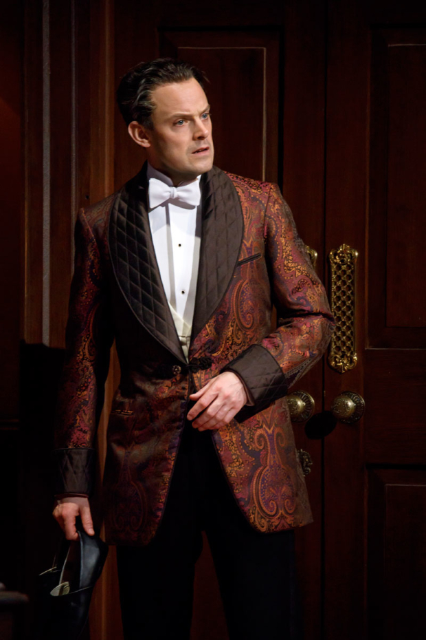 <p>Harry Hadden-Paton stars as Henry Higgins.</p><br />(© Joan Marcus)