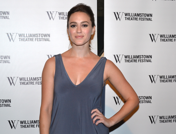 <p>Heather Lind appeared in the 2012 WTF production of <em>The Blue Deep</em>.</p><br />(© David Gordon)