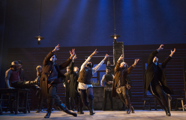 <p>Hofesh Shechter provides the production&#39&#x3B;s choreography.</p><br />(© Joan Marcus)