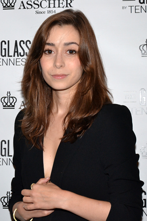<p><em>How I Met Your Mother</em> star Cristin Milioti is on hand to root for her <em>Once</em> director, John Tiffany.</p><br />(© David Gordon)