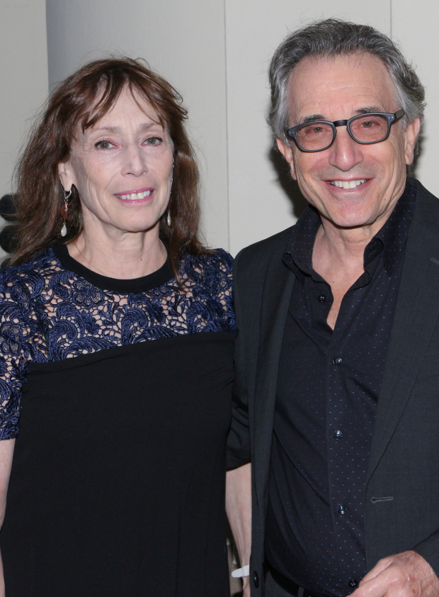 <p>Husband-and-wife team Susan Pilarre and Chip Zien smile for the cameras.</p><br />(© David Gordon)