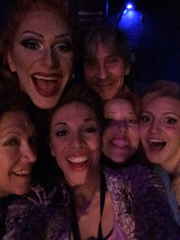 <p>I love all the crazy fools at the Hirschfeld. We sing and dance for a living and make people smile and they leave laughing and dancing. It&#39&#x3B;s a good job, right? #soblessed</p>