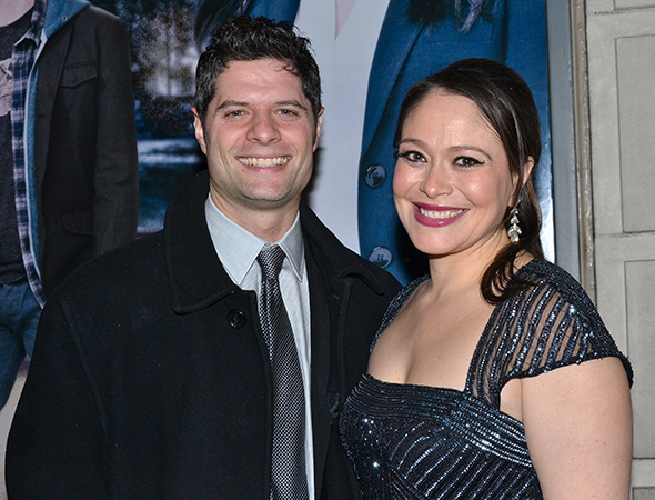 <p><em>If/Then</em> coauthor Tom Kitt spends the night with his lovely wife, Rita.</p><br />(© David Gordon)