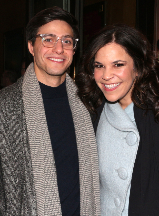 <p>In 2015, Gideon Glick and Lindsay Mendez starred in Roundabout Theatre Company&#39&#x3B;s production of Joshua Harmon&#39&#x3B;s play <em>Significant Other</em>.</p><br />(© David Gordon)
