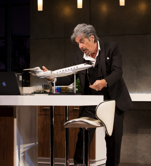 <p>In <em>China Doll</em>, Al Pacino plays Mickey Ross, a billionaire on the verge of retirement.</p><br />(© Jeremy Daniel)