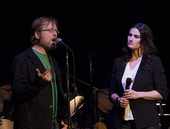 <p>In <em>If/Then</em>, Anthony Rapp and Idina Menzel reunite on stage for the first time since <em>Rent</em>.</p><br />(© David Gordon)