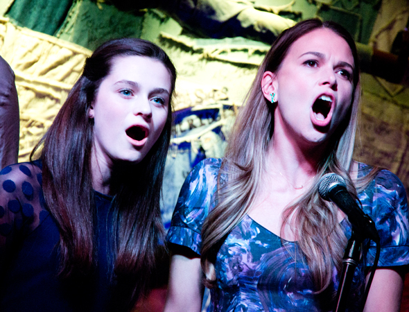<p>In the Broadway mounting of <em>Violet</em>, Emerson Steele and Sutton Foster reprise roles they created last summer in an acclaimed concert production of the musical at New York City Center.</p><br />(© David Gordon)