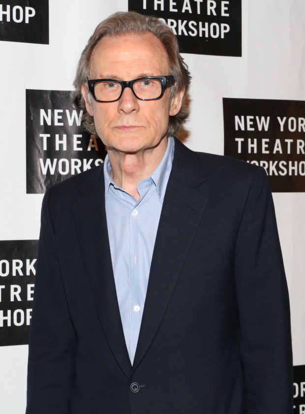 <p>In the current Broadway revival of <em>Skylight</em>, Bill Nighy works upon a Bob Crowley set.</p><br />(© David Gordon)