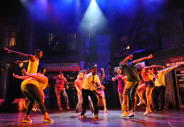 <p><em>In the Heights</em> has extended through October 22.</p><br />(© Stan Barouh)
