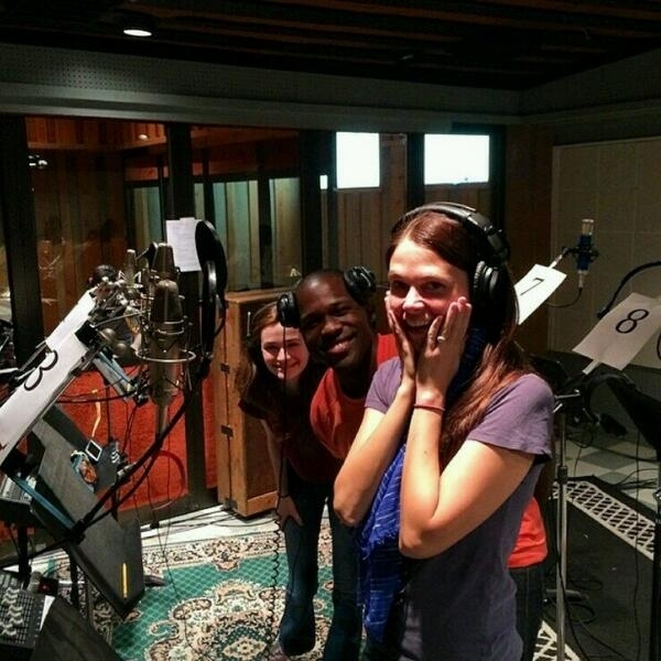 <p>In the recording studio with @sfosternyc @joshuahenry20 @emerson_steele #VioletAlbum </p><br />(courtesy of @RTC_NYC)