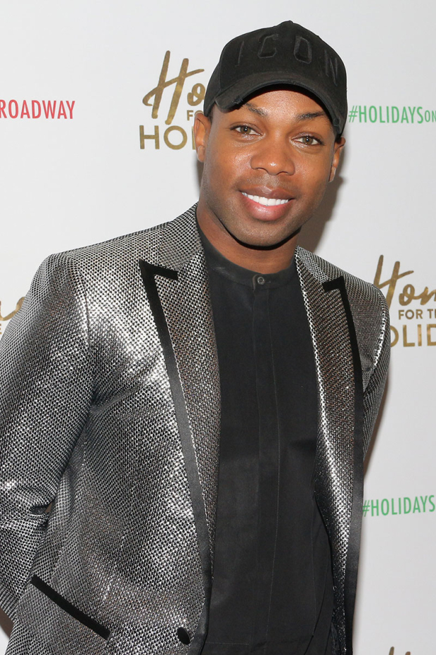 <p>Incoming <em>Chicago</em> star Todrick Hall pays a visit to <em>Home for the Holidays</em>.</p><br />(© David Gordon)