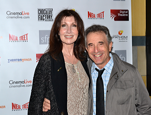 <p><em>Into the Woods</em> favorites Joanna Gleason and Chip Zien were each other&#39&#x3B;s dates for the evening.</p><br />(© David Gordon)