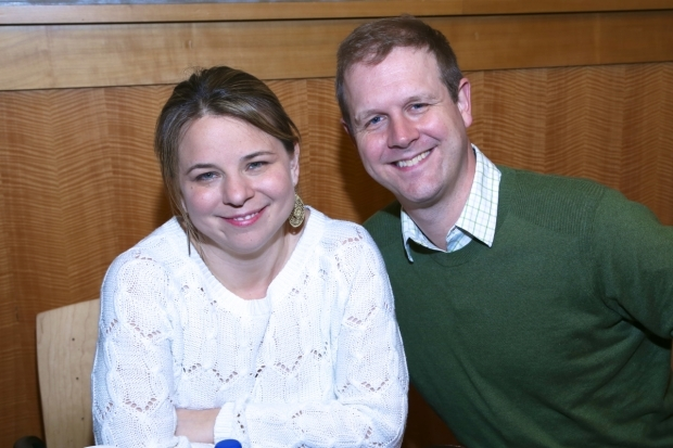<p>Irene Sankoff and David Hein wrote the book, music, and lyrics for <em>Come From Away</em></p><br />(© Tricia Baron)