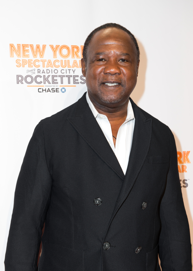 <p>Isiah Whitlock Jr. arrives to see the <em>New York Spectacular</em>.</p><br />(© Allison Stock)