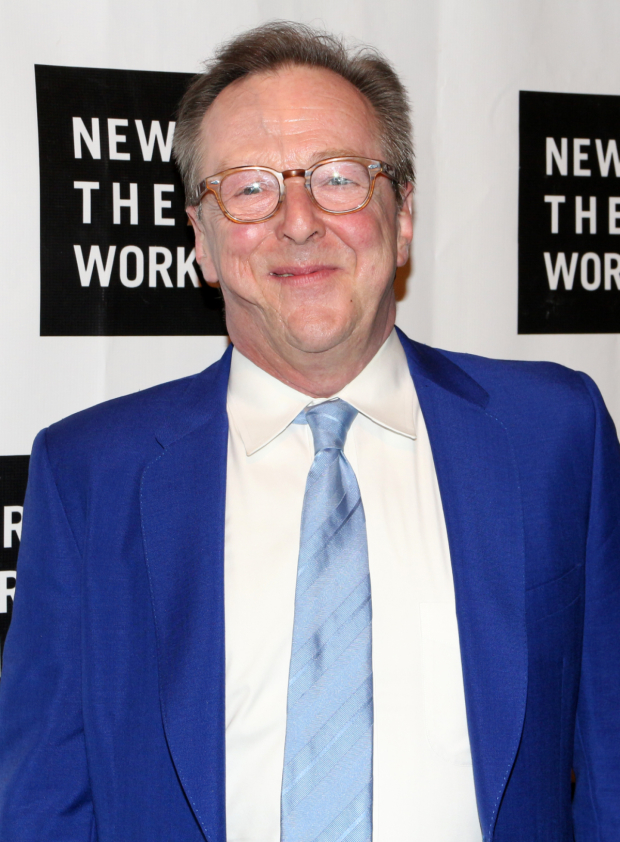<p><em>It Shoulda Been You</em> star Edward Hibbert arrives for the evening.</p><br />(© David Gordon)