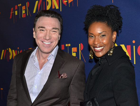 <p>It&#39&#x3B;s a <em>Lion King</em> reunion for Patrick Page and Kissy Simmons.</p><br />(© David Gordon)