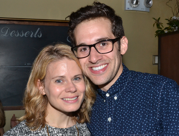 <p>It&#39&#x3B;s a <em>Peter and the Starcatcher</em> reunion with Celia Keenan-Bolger and Adam Chanler-Berat!</p><br />(© David Gordon)