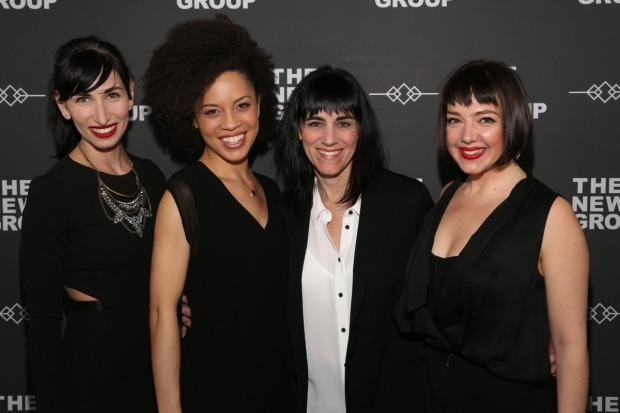 <p>It&#39&#x3B;s a <em>Sweet Charity</em> reunion for Nikka Graff Lanzarone, Sasha Hutchings, Leigh Silverman, and Lori Ann Ferreri.</p><br />(© Tricia Baron)
