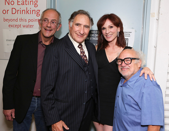 <p>It&#39&#x3B;s a <em>Taxi</em> reunion with Christopher Lloyd, Judd Hirsch, Marilu Henner, and Danny DeVito at opening night of <em>The Sunshine Boys</em>.</p><br />(© 2013 Ryan Miller/Capture Imaging)
