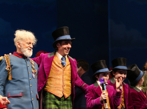 <p>It&#39&#x3B;s curtain time for <em>Charlie and the Chocolate Factory</em>.</p><br />(© David Gordon)