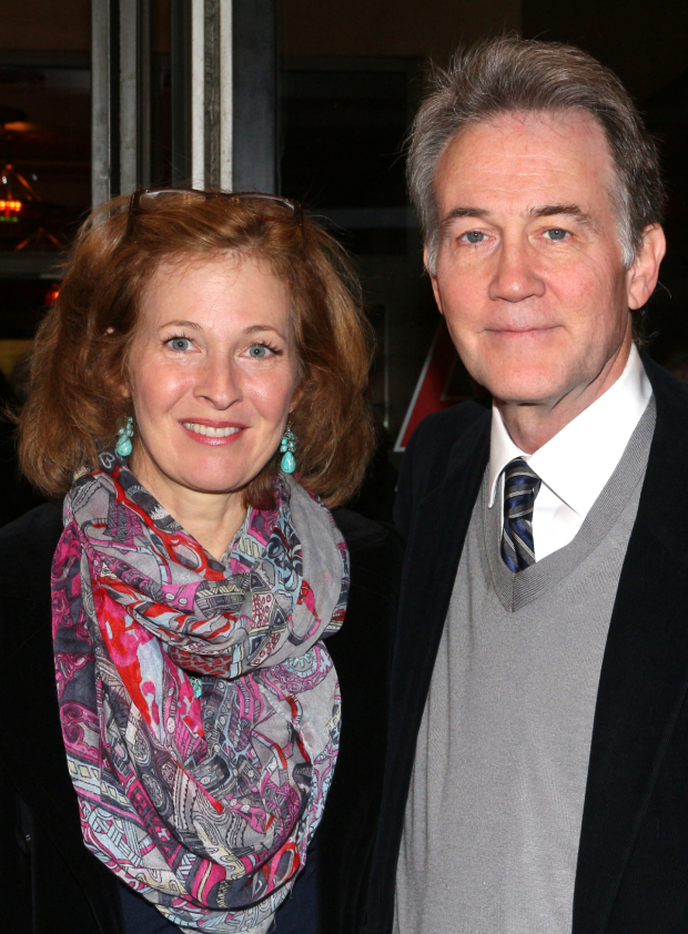 <p>It&#39&#x3B;s date night for theater couple Kathleen McNenny and Boyd Gaines.</p><br />(© David Gordon)