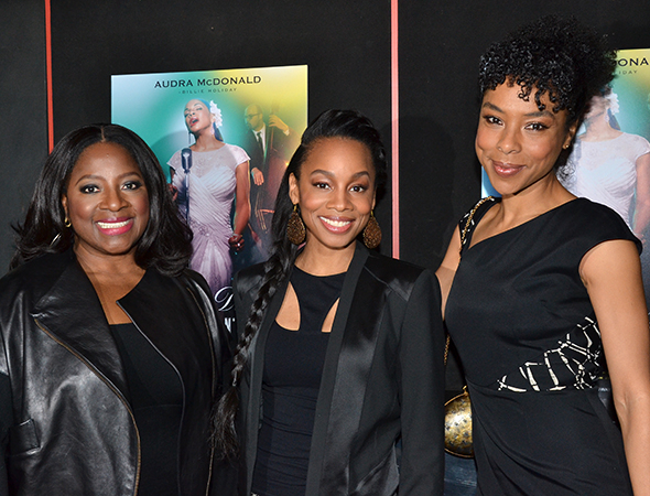 <p>It&#39&#x3B;s ladies night for <em>Raisin in the Sun</em> stars LaTanya Richardson Jackson, Anika Noni Rose, and Sophie Okonedo.</p><br />(© David Gordon)