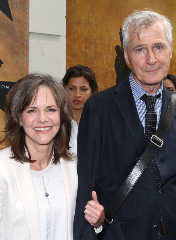 <p>It&#39&#x3B;s two Oscar winners: actress Sally Field and playwright John Patrick Shanley.</p><br />(© David Gordon)