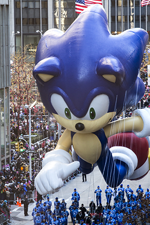 <p>It's Sonic the Hedgehog!</p><br />(© David Gordon)